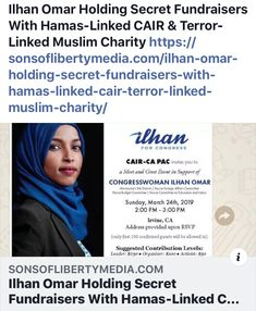 Is SHE being investigated since it's obvious she wasn't VETTED! Liberal Hypocrisy, Politics, Cant Let Go, Let It Be, Muslim Charity, Sick Puppies, Scum Of The Earth, Voter Id, Planet Hollywood