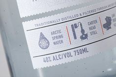 Packaging of the World: Creative Package Design Archive and Gallery: Reyka Vodka Redesigned