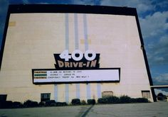 The 400 Drive-In was located at Highway 400 and Highway 7 W. It opened July 1954 as a single screen and expanded to three screens in It closed in 1997 Drive In Movie Theater, Portuguese Food, Vintage Movies, Back In The Day, Ontario, Abandoned, Toronto, Past, Nostalgia