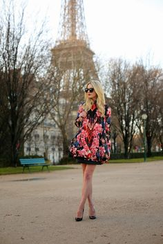 Atlantic-Pacific is a fashion and personal style site by Blair Eadie. Fashion Idol, Fashion Outfits, Women's Fashion, Fashion Trends, An American In Paris, American Girl, Style Floral, Blair Eadie, Atlantic Pacific