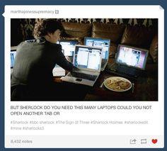 Oh Sherlock....