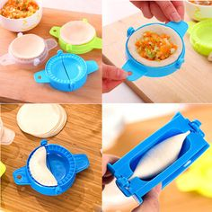 1.11AUD - Kitchen Dumpling Tools Dumpling Maker Device Diy Jiaozi Mold Kitchen Gadgets #ebay #Home & Garden
