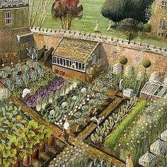 The Kitchen garden.