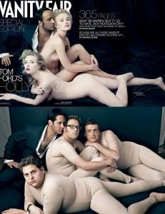 If Men Posed Like Women article