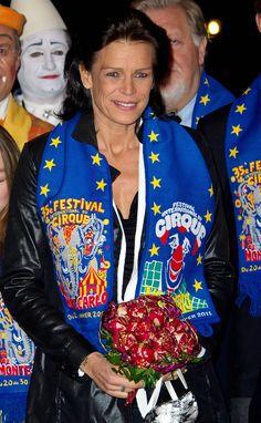 Princess Stephanie - Monte-Carlo 35th International Circus Festival 2011 - January 22, 2011