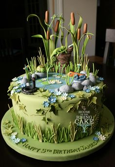 pinterest swamp cake | ... Oh My God I'm Almost Nostalgic So Signing Off Cake on Pinterest