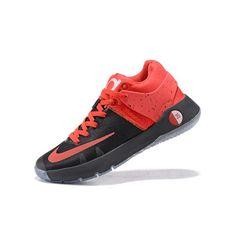 best website da801 34cdb Nike KD Trey 5 IV Premium Mens Basketball Shoes Black Red Kd Basketball  Shoes, Kd