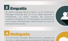 10 cualidades y habilidades de todo Community Manager #Infografia #SocialMedia