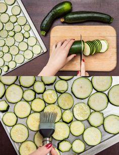 Naložte je! Cukety s česnekem a chilli jsou dokonalé! - Proženy Zucchini, Food And Drink, Gluten Free, Vegetables, Glutenfree, Veggies, Sin Gluten, Vegetable Recipes, Squashes