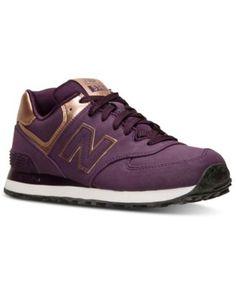 New Balance Women s 574 Precious Metals Casual Sneakers from Finish Line  Scarpe Per Uso Quotidiano 41265df27fd