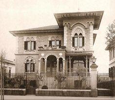Avenida Paulista: Residência de João Baptista Scurachio – 1920, arquiteto desconhecido: