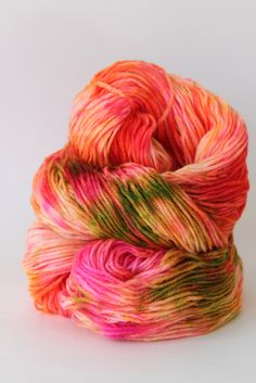 Image of Rainbow Sherbet - Hand Dyed Yarn