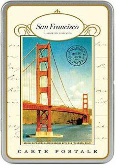 Cavallini San Francisco Postcards - Wish you were here!