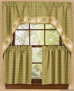 Lord Is My Shepherd Window Curtain Swag