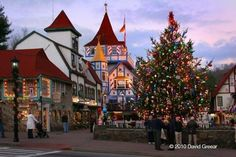 Christkindlmarket Alpine - Helen, GA | 11 Of The Most Magical German Christmas Markets Across The U.S.