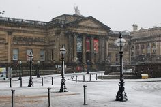 Walker Art Gallery in the snow. http://www.liverpoolmuseums.org.uk/walker/