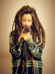 <3 <3 <3 #dreadlocks #selfportrait #dreadstop :: Shop Natural Hair Accessories at DreadStop.Com
