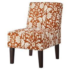 Threshold™ Slipper Chair - Copper Floral