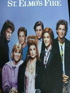 St. Elmos Fire VHS Emilio Estevez Rob Lowe Demi Moore Eighties Andrew McCarthy