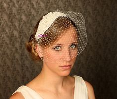 Bridal Pearl comb Hair comb Wedding headdress by klaxonek on Etsy, $139.00