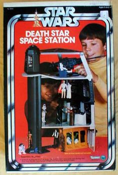 Kenner Star Wars Death Star Space Station - ultimate in cool. 4 levels, retractable bridge with rope, exploding cannon, elevator, secret hatch, and trash compactor with monster
