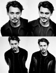 I don't usually post pics of boys... but I'll make an exception for Johnny Depp ;)