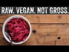 Red Cabbage Sauerkraut | Raw. Vegan. Not Gross.