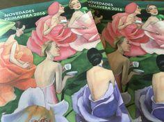 """La @ferialibromadrid continúa con Novedades de primavera de @nordica_libros """"Alicia a través del espejo"""" #flm16 #feriadellibro2016 #fernandovicente #nordicalibros #aliciaatravesdelespejo"""
