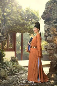 醪盉的相册-潤熙陳唐妆束 It was very fashionable in the #Tang for ladies to wear men's clothing. This is the Tang Dynasty BF jacket.