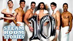 Today is a momentous day for all of us here at Steam Room Stories. We turn 10 years old today! Steam Room Stories has brought you over 60 hot, steamy studs, . Steam Room, 10 Year Old, Sexy Men, Comedy, Hilarious, Youtube, Man Candy Monday, Hilarious Stuff, Comedy Theater
