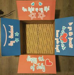 Fourth of July Care Package  Military Care by LoveAcrossTheMiles
