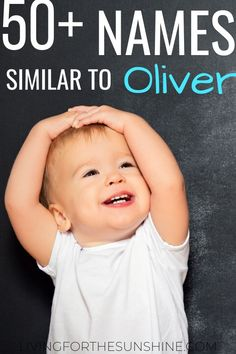 Are you looking for a name that is similar to Oliver, but just a bit different? This list of boy names like Oliver will help you find the perfect name! #names #boynames #oliver #babynames #pregnant #expecting Last Names For Boys, Cowboy Names For Boys, Manly Boy Names, Short Boy Names, Unusual Boy Names, Different Boy Names, Boy Middle Names, Strong Boys Names, Classic Baby Boy Names