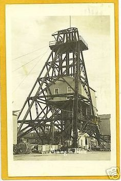Real Photo Postcard - Mining in Butte Montana in Collectibles | eBay