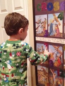 Lent projects for toddlers. Catholic 40 days of Lent with kids.