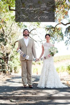 WedLuxe: Tammy & Kevin
