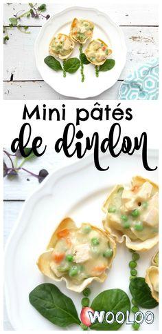 Voici une délicieuse et trop mignonne recette de mini pâtés de dindon pour nourrir tout mon petit monde avec des ingrédients sains et nutritifs! #Savoureuxetmaigre #ad #joueavectanourriture #recette #dindon
