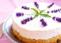 Krem torta s lavandom i maslinovim uljem