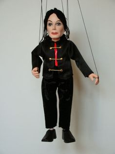 Original small Czech puppets. Marionettes are made by hand in small quantities.