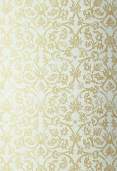 Обои с узорами Schumacher, коллекция Palazzo Damasks, артикул5003643 - Artique