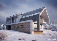 Stommel Haus, Casas Magnolia, Modern Villa Design, Best Tiny House, Modern Farmhouse Exterior, Residential Architecture, Home Fashion, Exterior Design, Building A House