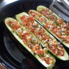 Low Carb Stuffed Zucchini II Recipe