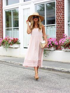 Blush Dress in Southampton