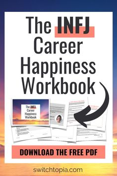 INFJ personality type often have trouble choosing a meaningful career. Download this FREE workbook that will help you on your INFJ careers path to meaningful work. Finding The Right Career, Choosing A Career, Introvert Personality, Personality Types, Career Path, New Career, Careers For Infj, Good First Jobs, How Can I Get