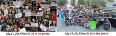 https://flic.kr/p/WPrpt1 | Please join us in New York for the Day 3 and final 'Boknal' demonstration for this year. | These photos are of the 'Boknal' demonstrations, organized by The Animals' Battalion, at the Korean Consulate Generals Office in New York. The first photo is from the 2nd day of this year's demonstration  while the second photo shows day 2 of the demonstration last year. Can you tell the difference in the attendance? It's noticeably smaller this year, which is very sad as the…