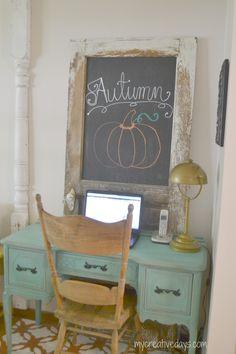 Fall Home Tour mycreativedays.com