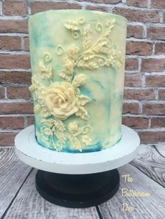 Bas relief buttercream cake - Cake by The Buttercream Diva