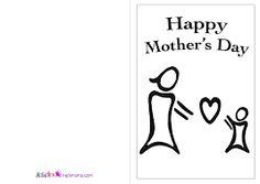 Resultado de imagen de postcard in english happy mother's day infant printable