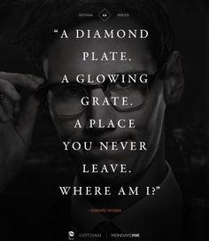 Home #Gotham .. Riddler