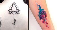 Todos os apaixonados por Harry Potter conhecem o símbolo das Relíquias da Morte…