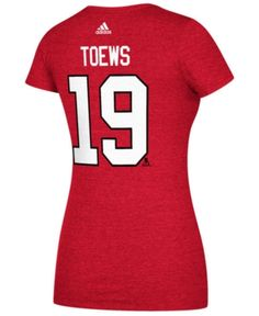 755933d37 adidas Women Jonathan Toews Chicago Blackhawks Player T-Shirt